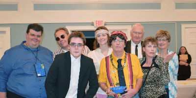 Members of Ripon Summer Players Theatre pose for a funny photo