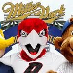 Alumni Brewers vs Cubs game