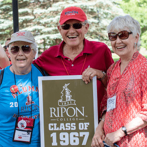 Members of the Class of 1967 enjoy Alumni Weekend 2019