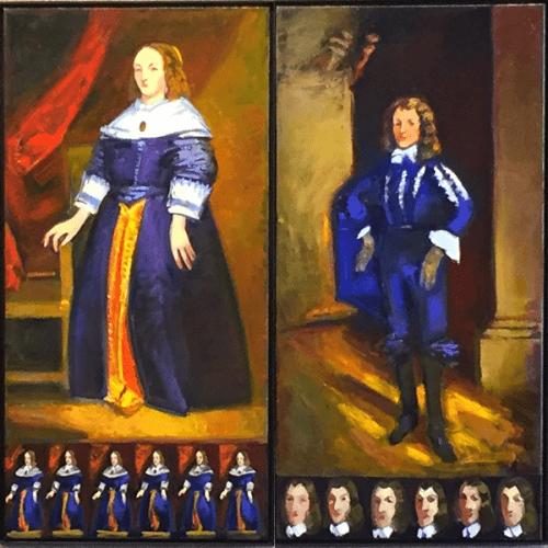 Interpretation of Van Dyck portraits