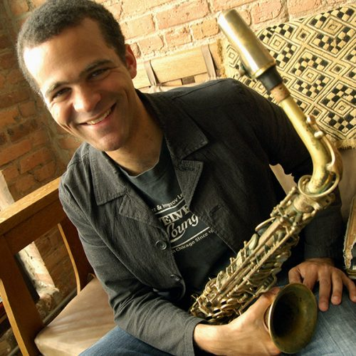 Greg Ward with saxophone