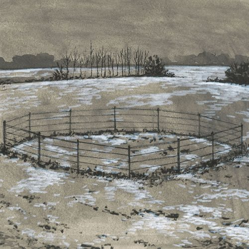 """Landscape (Enclosure),"" by Rafael Francisco Salas"