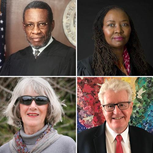 Racial justic panel participants