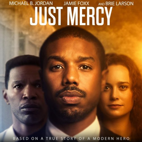 "Movie poster for ""Just Mercy"""