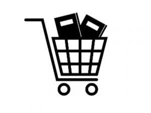 black cart clip art