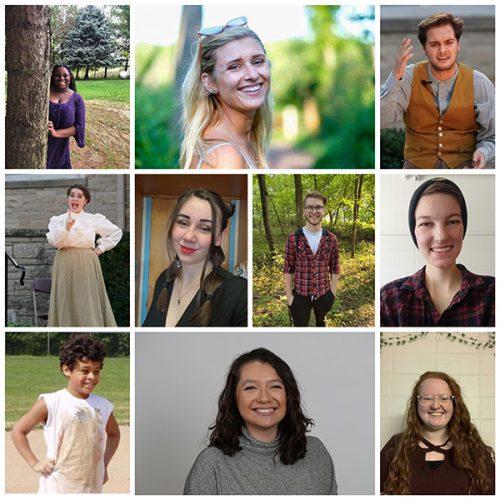 10 student drectors of 'Almost, Maine'