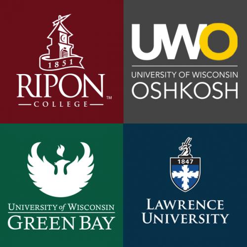 Logos of four schools
