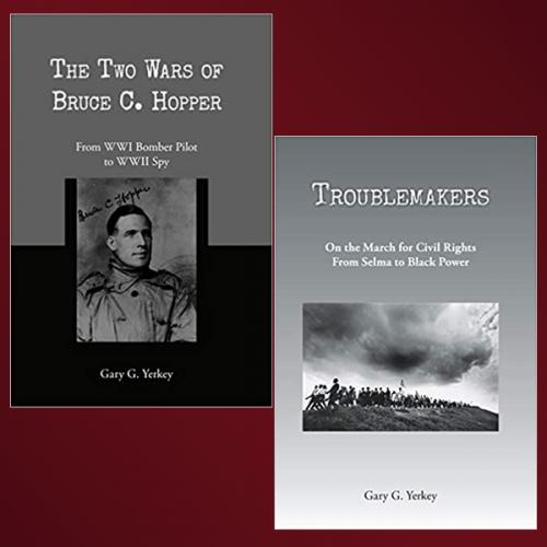 Covers of books by Gary Yerkey '66